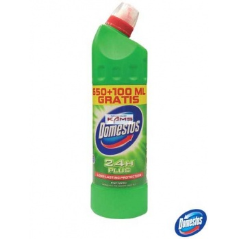 DOMESTOS-650PF-Q - płyn do wc 650+100 ml Pine Fresh - 750 ml.