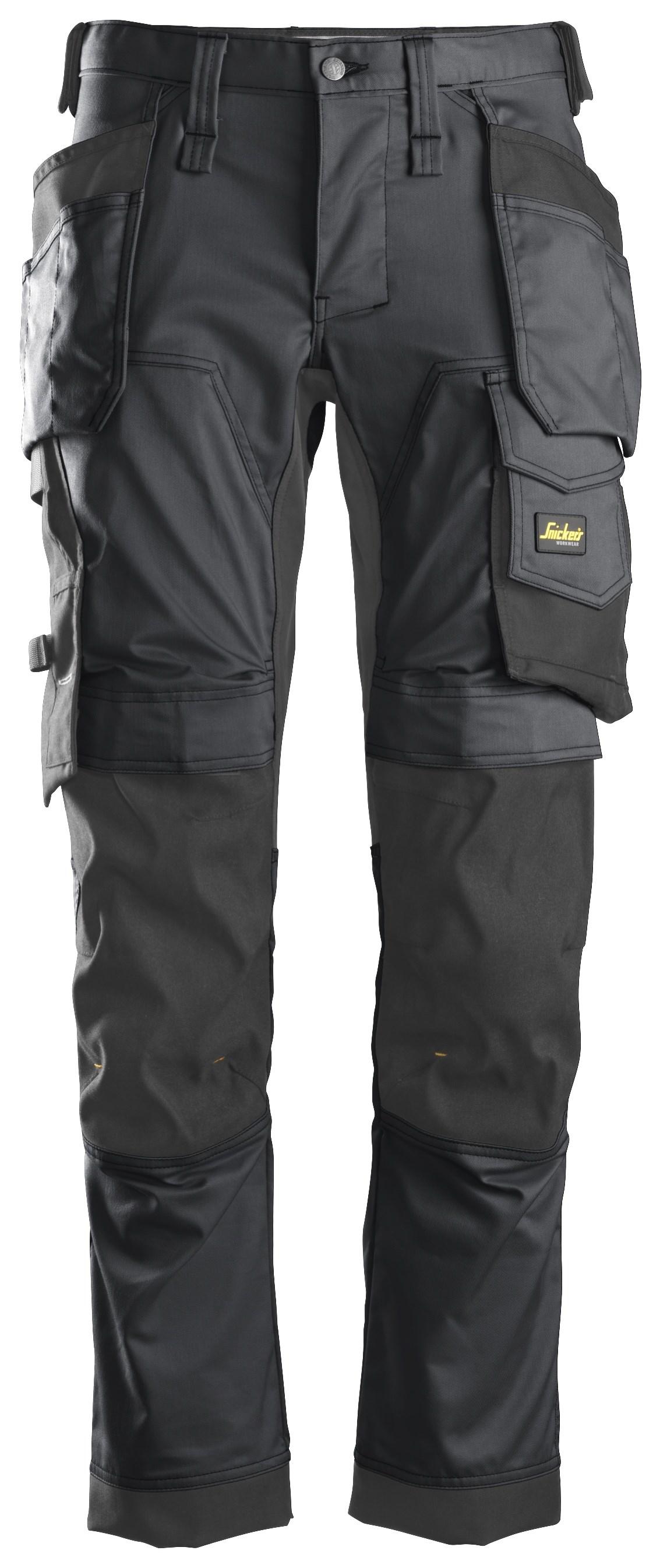 Spodnie robocze do pasa Stretch AllroundWork z workami